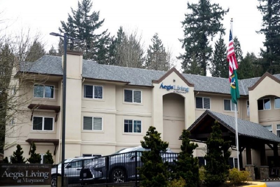 A view of Aegis Living at Marymoor, an assisted living facility linked to several cases of coronavirus, during the coronavirus disease (COVID-19) outbreak in Redmond, Washington, US, March 21, 2020. — Reuters/Files