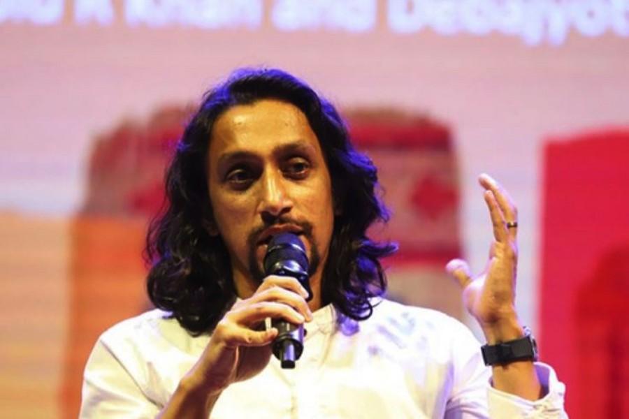 File photo of Bangabandhu's grandson Radwan Mujib Siddiq. (bdnews24.com)