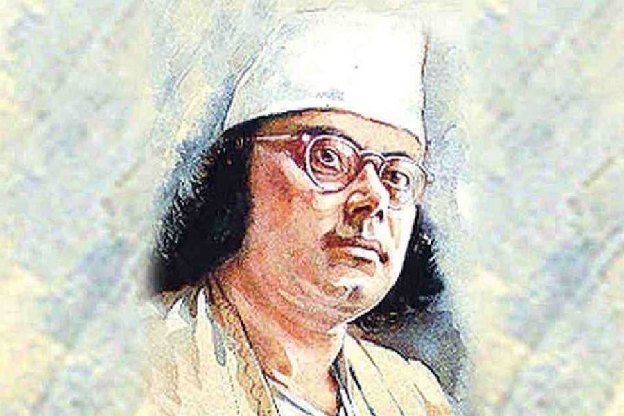 Nazrul's 121st birth anniversary being celebrated