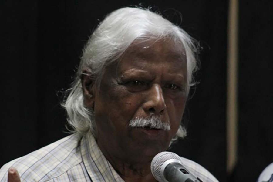 File photo shows founder and trustee of the Gonoshasthaya Kendra Dr Zafrullah Chowdhury