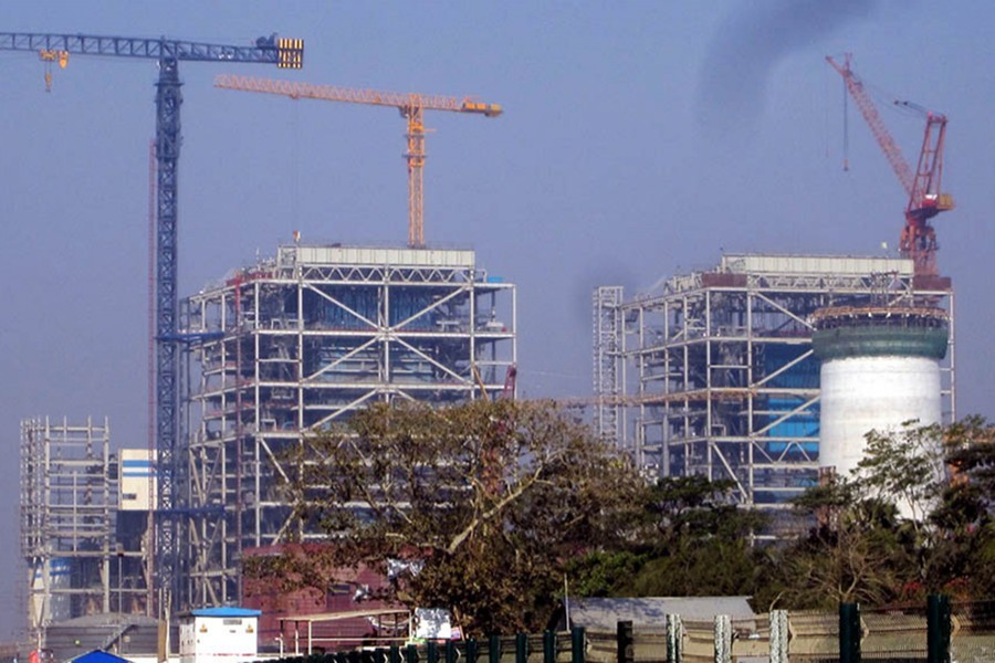 Payra coal-fired power plant is seen in the image. — Focus Bangla/Files
