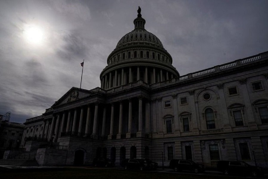 The US Capitol Building is seen before US President Donald Trump is expected to deliver the State of the Union address on Capitol Hill in Washington, US, February 04, 2020 — Reuters/Files