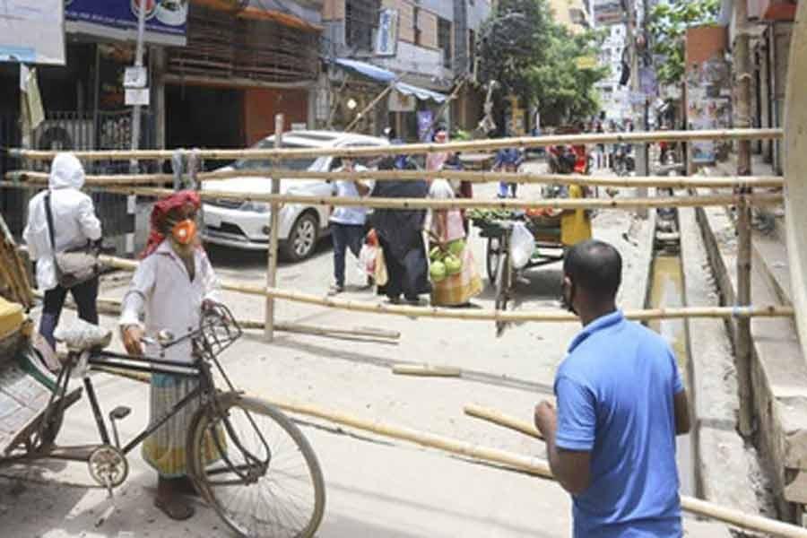 Coronavirus hotspots in Wari go under 21-day lockdown