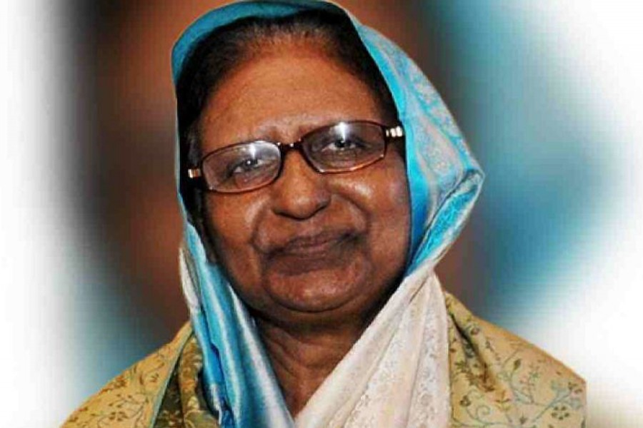 Sahara Khatun laid to rest at Banani graveyard