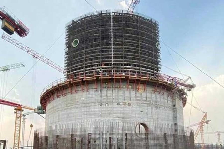 Rooppur nuclear power plant on 'fast track' despite pandemic