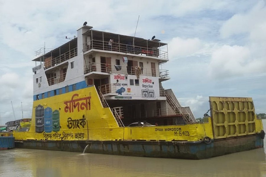 Ferry with stranded passengers leaves Shimulia