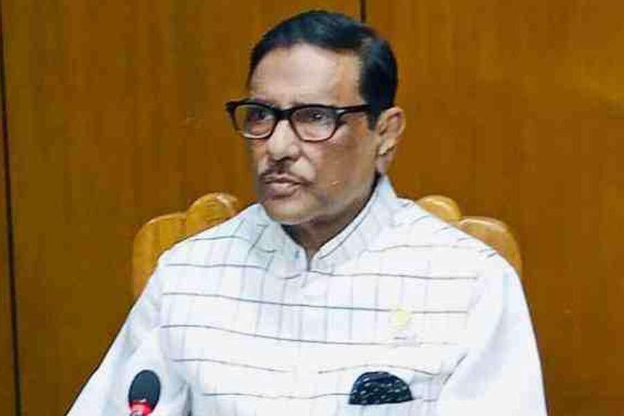 No benefit in spreading rumours against govt: Obaidul Quader