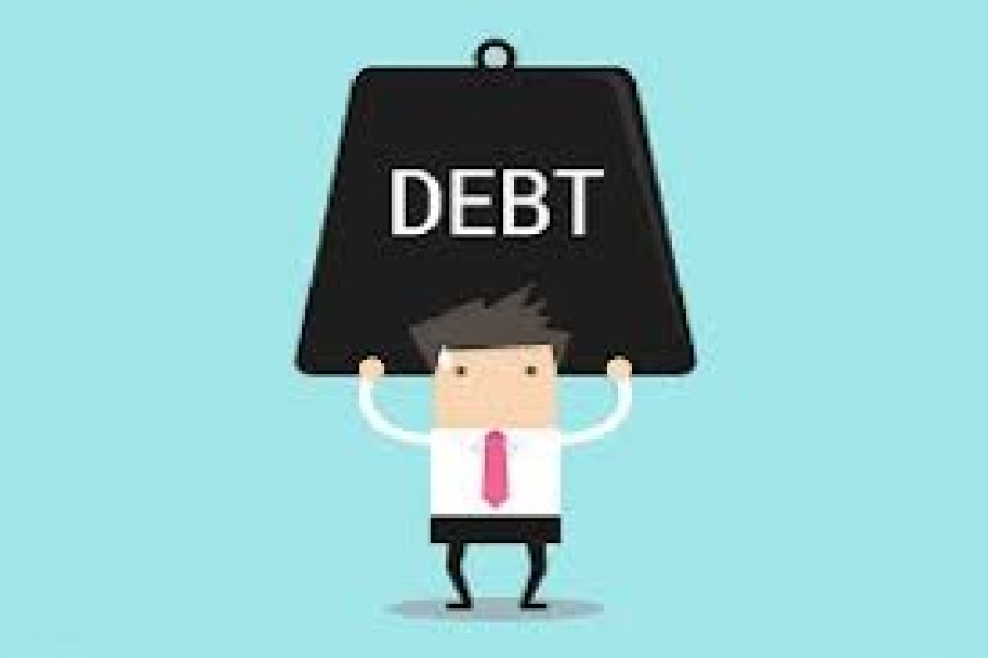 63.0pc of private foreign debt short-term