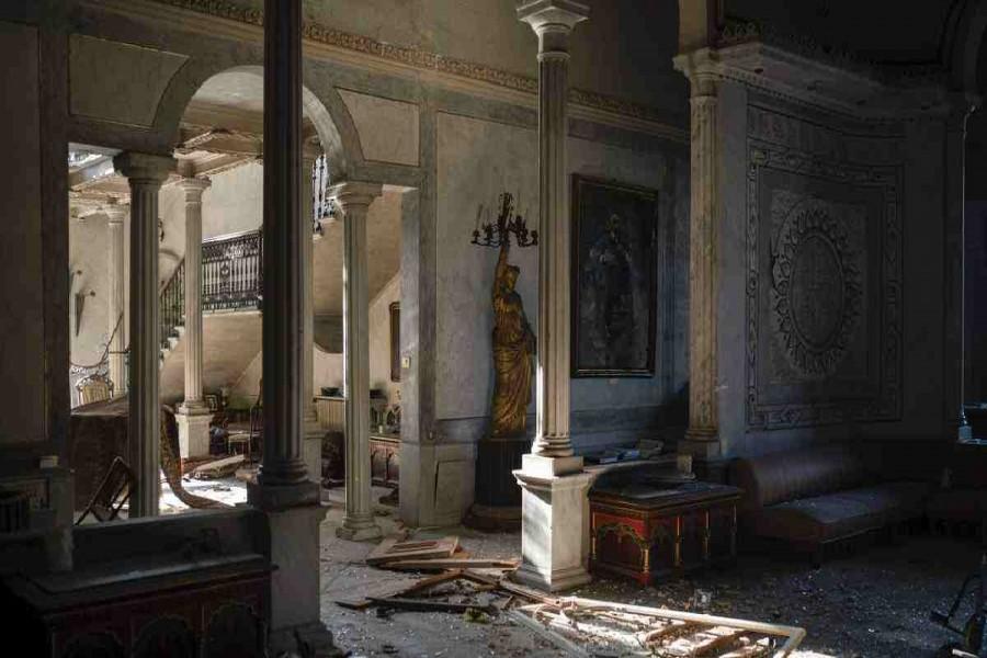 Beirut blast destroys iconic 19th century palace