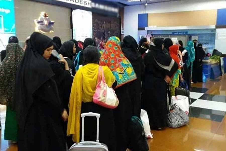 'Enforce existing laws for legal protection of female migrant workers'