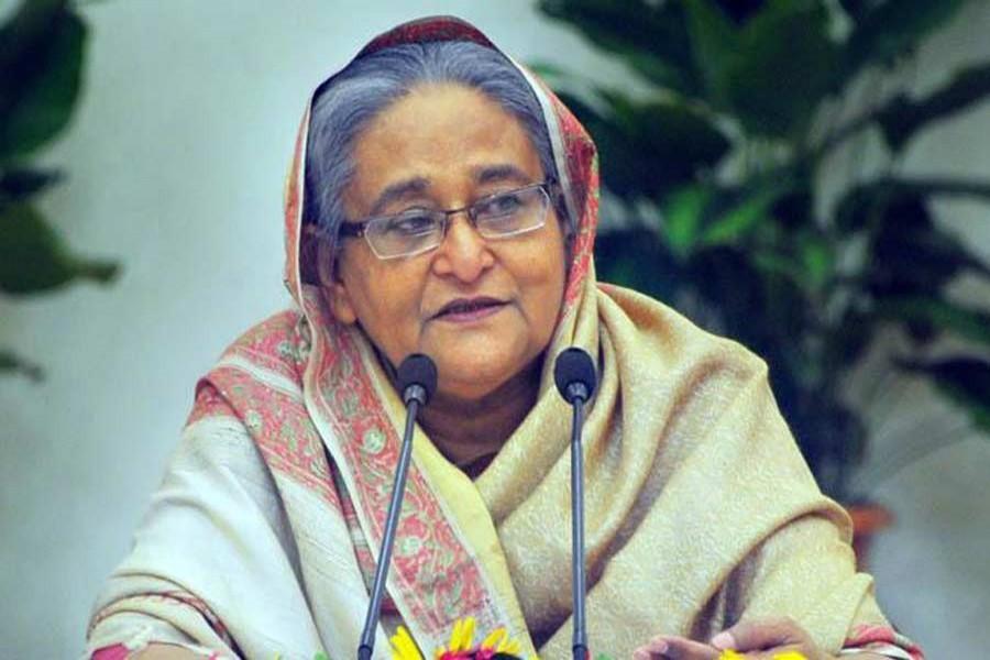 Prime Minister Sheikh Hasina — File photo