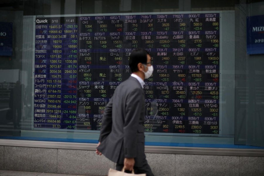 Global stocks struggle to stabilise as tech remains fragile