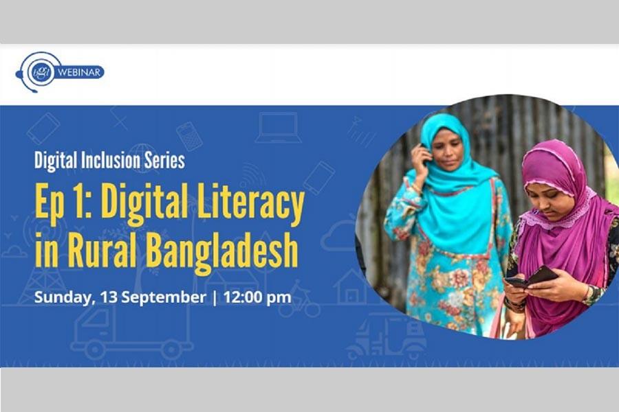 54pc Bangladeshi rural families lack internet access: Survey