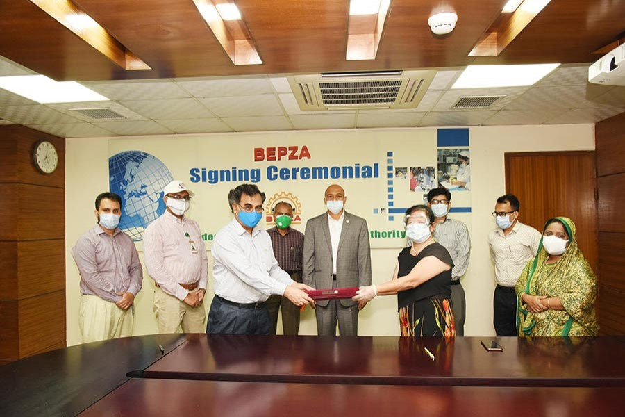 BEPZA inks $56.33m new investment agreement amid pandemic