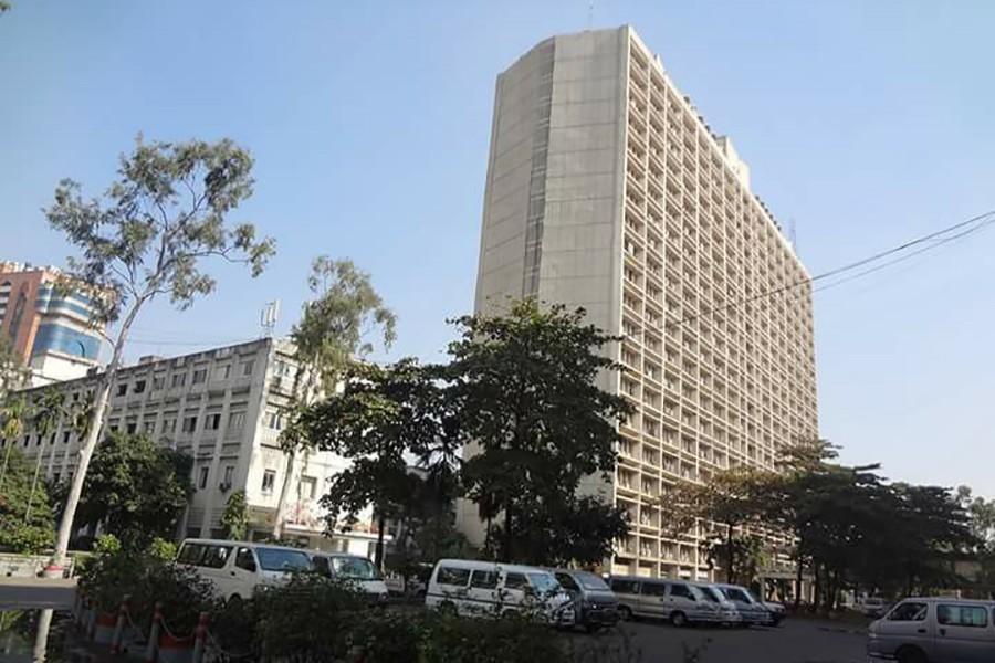 A general view of Bangladesh Secretariat in Dhaka — Social Media