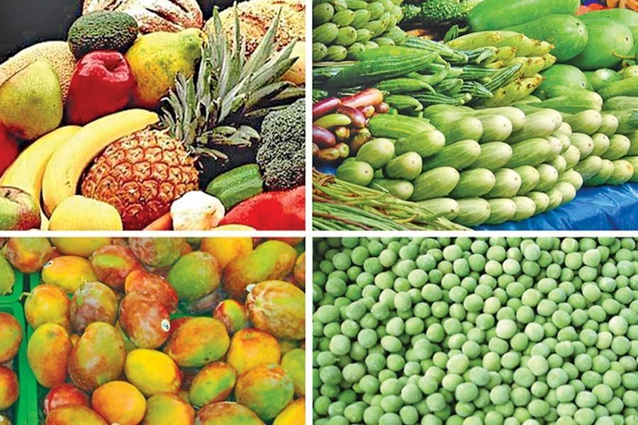 Diversity in growing fruit and veg